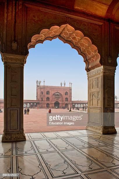 India Old Delhi Jama Masjid Mosque