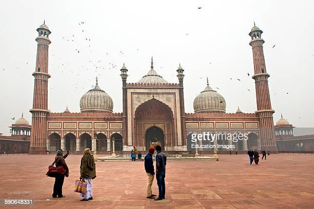 India Old Delhi Jama Masjid Mosque
