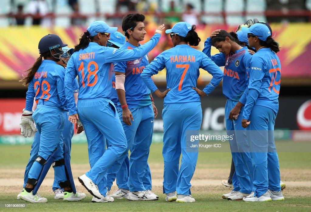 India v Ireland - ICC Women's World T20 2018 : News Photo