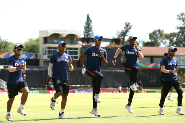 ZAF: India Nets Session - ICC U19 Cricket World Cup 2020