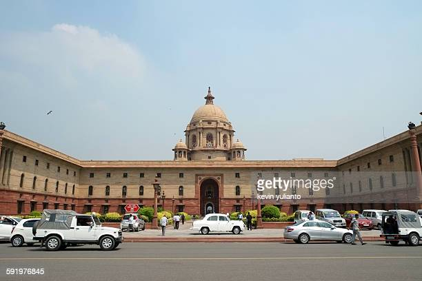 India Presidential Palace in Delhi