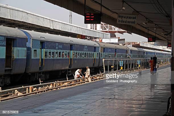 India: Railway Station in New Delhi