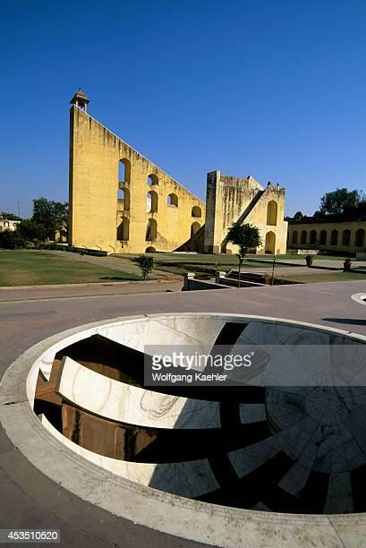 India Rajasthan Jaipur Jantar Mantar Observatory Built In 1728 By Astronomer Maharajah Jai Singh Ii