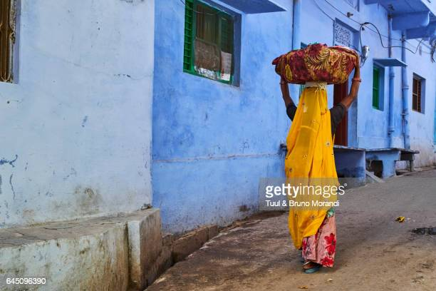 india, rajasthan, jodhpur, the blue city - asia pac stock pictures, royalty-free photos & images