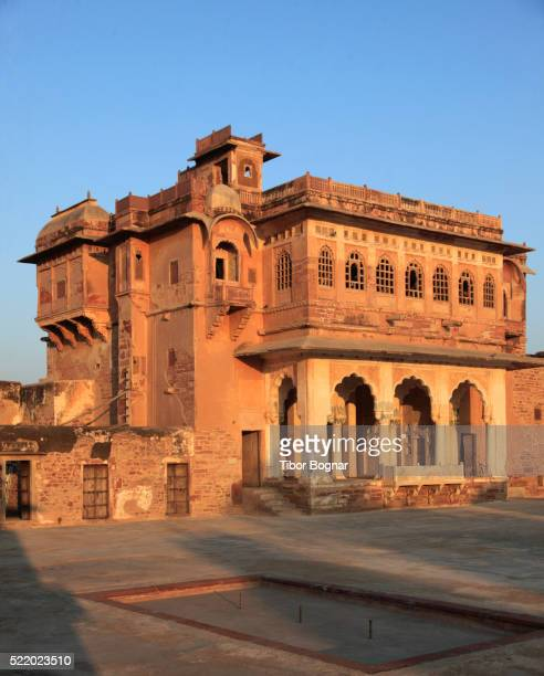 india, rajasthan, nagaur, ahhichatragarh fort - monument stock pictures, royalty-free photos & images