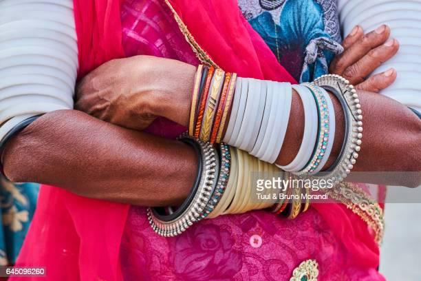 India, Rajasthan, Rabari village