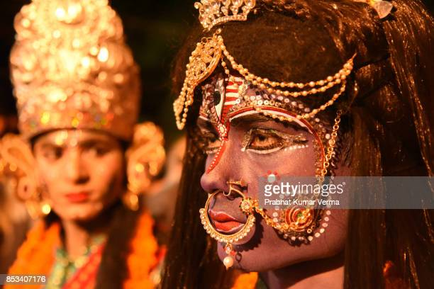 India- Ramleela during Dussehra Festival