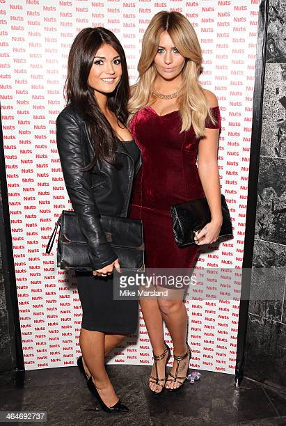 India Reynolds attends Nuts 10th Birthday Party at Aura on January 23 2014 in London England