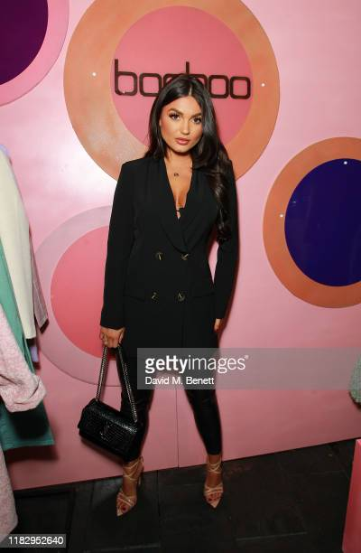 India Reynolds attends the Boohoo Beauty Launch event on October 23 2019 in London England