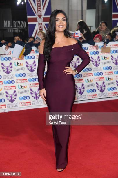 India Reynolds attends the Pride Of Britain Awards 2019 at The Grosvenor House Hotel on October 28 2019 in London England