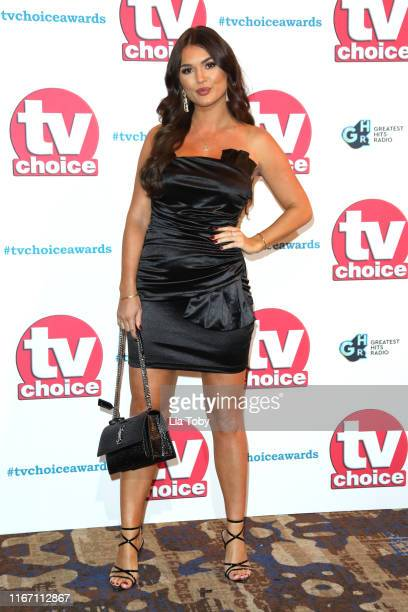 India Reynolds attends The TV Choice Awards 2019 at Hilton Park Lane on September 9 2019 in London England