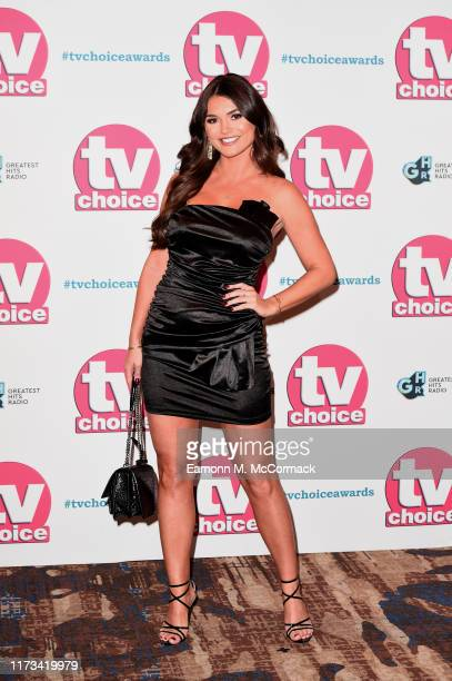 India Reynolds attends The TV Choice Awards 2019 at Hilton Park Lane on September 09 2019 in London England