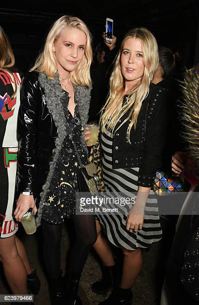 India Rose James and Gracie Egan attend Diesel's #forsuccessfulliving party on November 17 2016 in London England