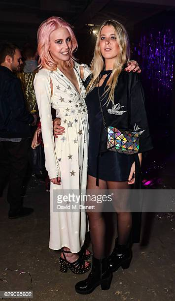 India Rose James and Gracie Egan attend India Rose James' 25th birthday party on December 10 2016 in London England