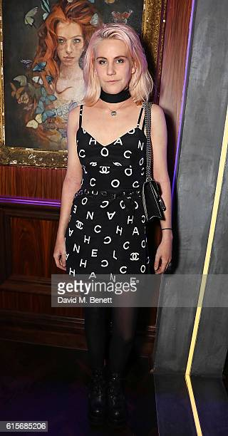 India Rose James attends the launch of MNKY HSE latenight restaurant Mayfair on October 19 2016 in London England