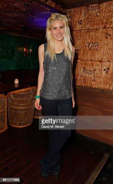 India Rose James attends the Les Girls Les Boys festive party at Mahiki Kensington on November 28 2017 in London England