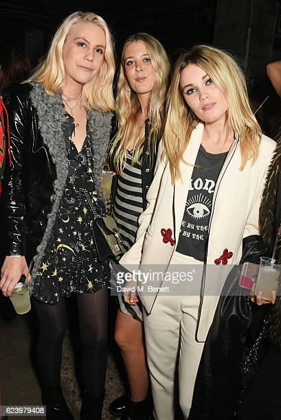 India Rose James Gracie Egan Kara Rose Marshall attend Diesel's #forsuccessfulliving party on November 17 2016 in London England