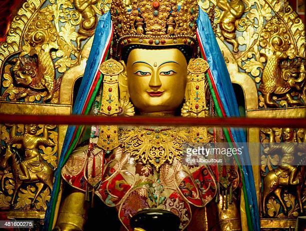 India Sikkim Golden Buddha Buddhist Monastery