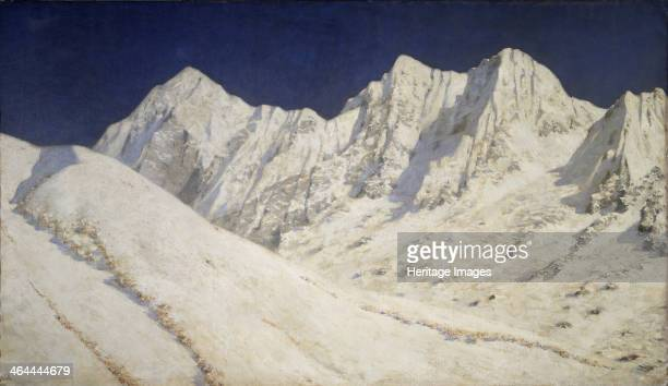 India Snow on the Himalayas 18741876 Found in the collection of the Regional W Wereshchagin Art Museum Mykolaiv