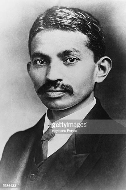 India spiritual guide and politician Mohandas Karamchand Gandhi in March 1930 in India