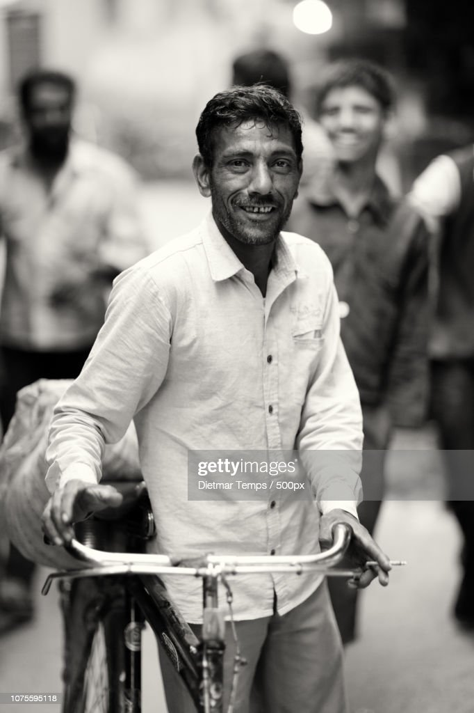 India, street photography : Stock-Foto