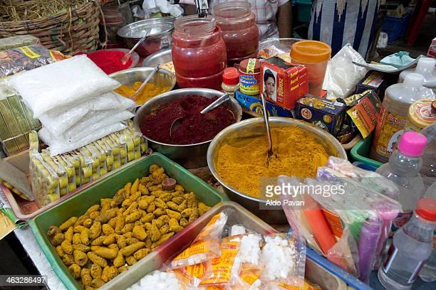 India, Tamil Nadu, Chennai, Madras, street market