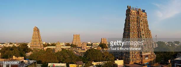 india, tamil nadu, madurai, sri meenakshi temple - tamil nadu stock pictures, royalty-free photos & images