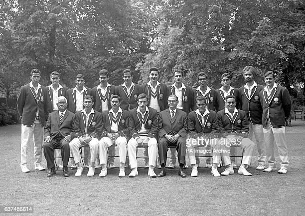 India team group Venkataraman Subramanya Bhagwath Chandrasekhar Sadanand Mohol Subrata Guha Srinivas Venkataraghavan Farokh Engineer Ajit Wadekar...