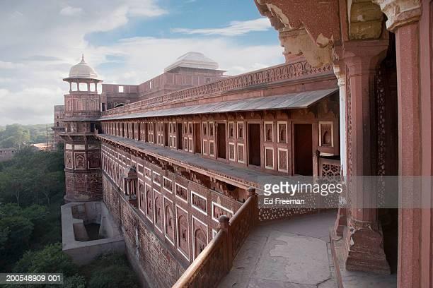 india, uttar pradesh, agra, agra fort, jehangiri mahal - アーグラ ストックフォトと画像
