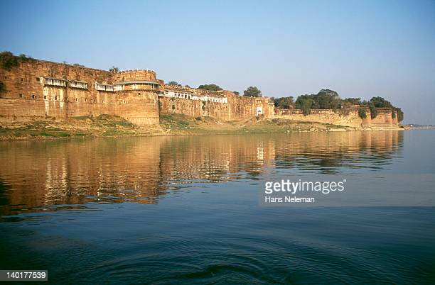 india, uttar pradesh, allahabad, akbar's fort - prayagraj stock pictures, royalty-free photos & images
