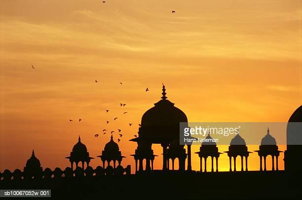 India, Uttar Pradesh, Fatehpur Sikri at sunset