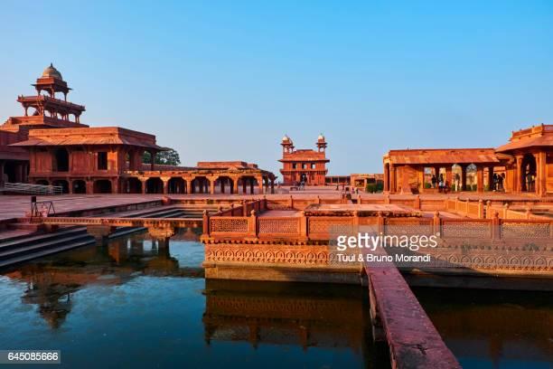 india, uttar pradesh, fatehpur sikri - fatehpur sikri stock pictures, royalty-free photos & images