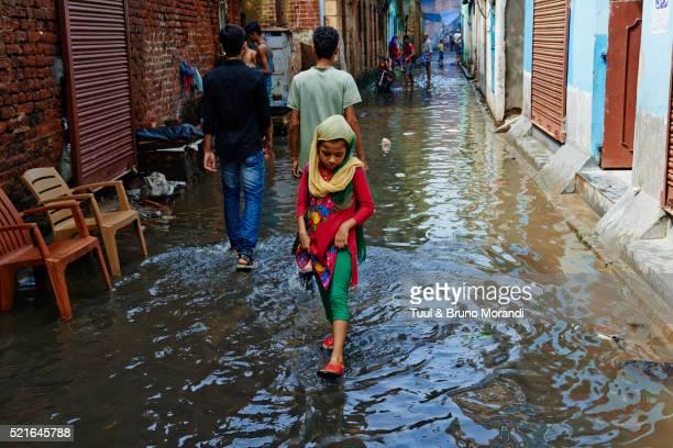 India, West Bengal, Kolkata, Calcutta, street life