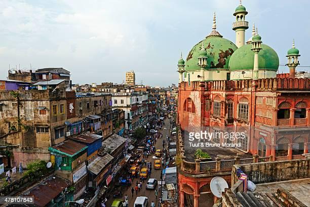 india, west bengal, kolkata, nakhoda mosque - kolkata stock pictures, royalty-free photos & images