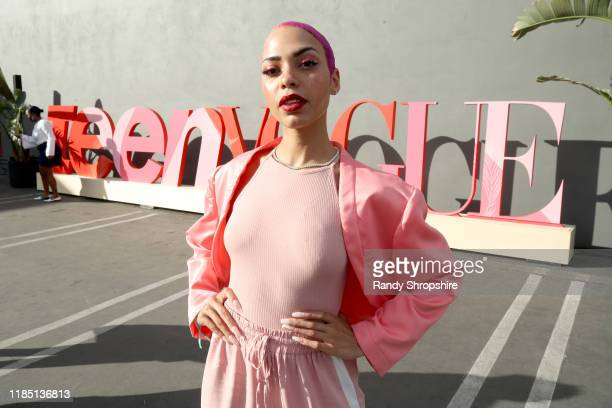 India Williams attends the Teen Vogue Summit 2019 at Goya Studios on November 02 2019 in Los Angeles California