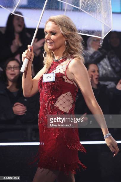 India Willoughby attends the launch night of Celebrity Big Brother at Elstree Studios on January 2 2018 in Borehamwood England