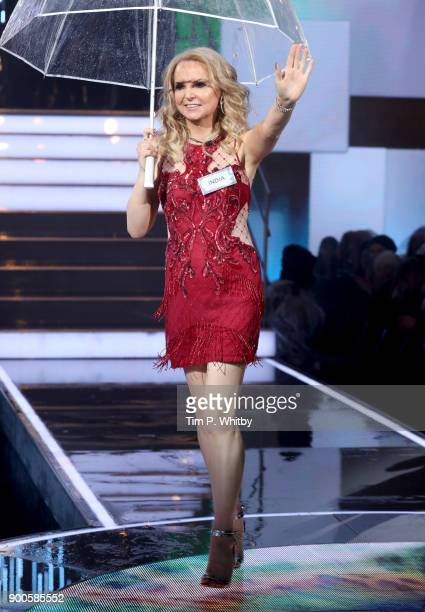 India Willoughby enters the 'Celebrity Big Brother' House at Elstree Studios on January 2 2018 in Borehamwood England