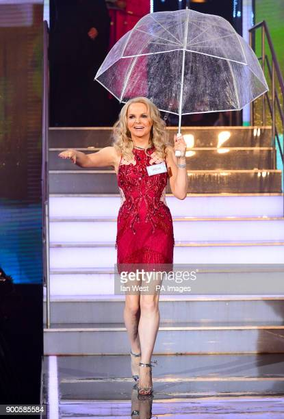 India Willoughby enters the house during the Celebrity Big Brother Launch held at Elstree Studios in Borehamwood HertfordshireÂ