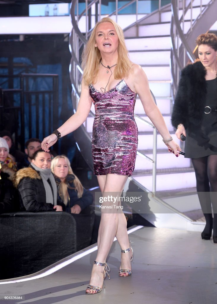 India Willoughby is evicted during the Celebrity Big Brother live eviction at Elstree Studios on January 12, 2018 in Borehamwood, England.