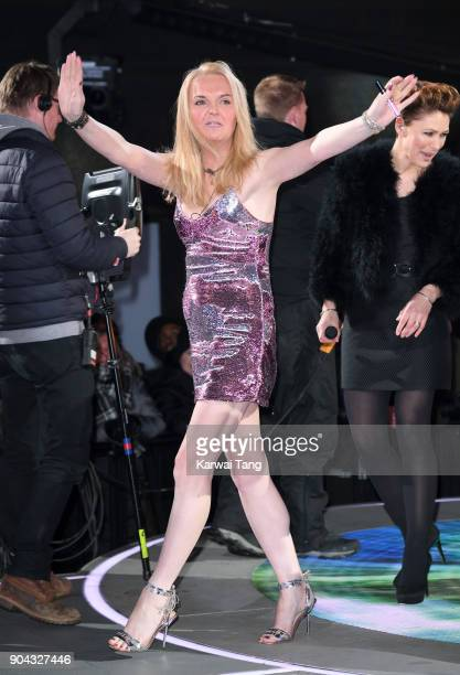 India Willoughby is evicted during the Celebrity Big Brother live eviction at Elstree Studios on January 12 2018 in Borehamwood England
