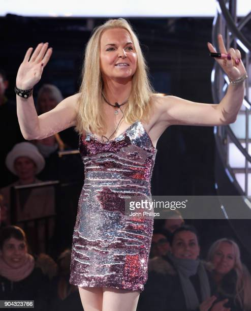 India Willoughby is evicted from the Celebrity Big Brother House at Elstree Studios on January 12 2018 in Borehamwood England