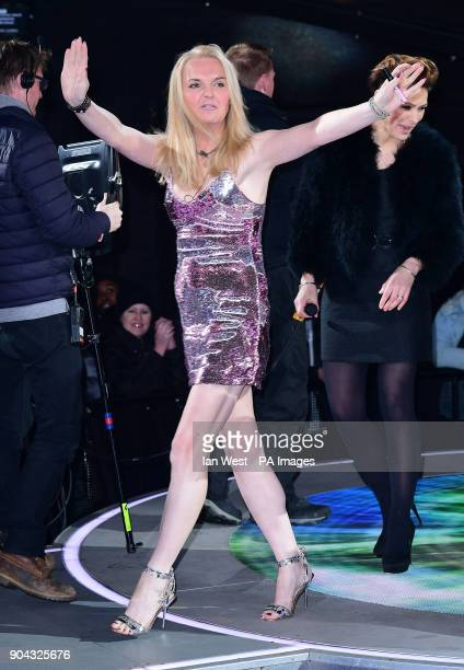 India Willoughby is evicted from the Celebrity Big Brother house at Elstree Studios in Borehamwood Hertfordshire