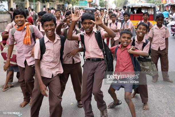 India, young students in Madurai