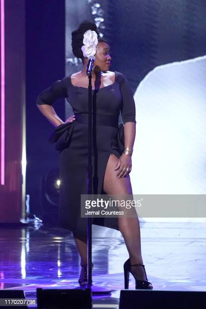 India.Arie performs onstage at Black Girls Rock 2019 Hosted By Niecy Nash at NJPAC on August 25, 2019 in Newark, New Jersey.
