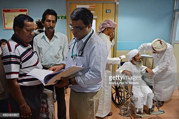 IndiaBritainhealtheconomytourismdoctorsFEATURE by Rachel O'Brien This photo taken on March 26 2014 shows an elderly Omanian patient waiting for a...