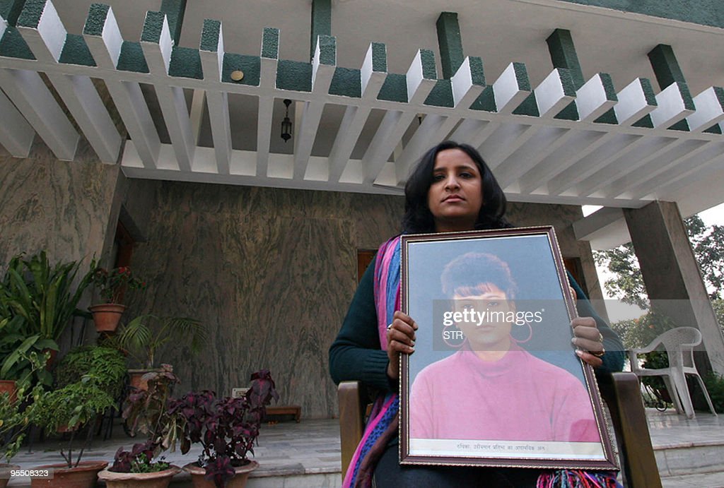 IndiacrimesexsocietyFOCUS by Yasmeen Mohiuddin Indian woman Aradhna Gupta who witnessed the assault on her best friend Ruchika Girhotra in 1990 holds.