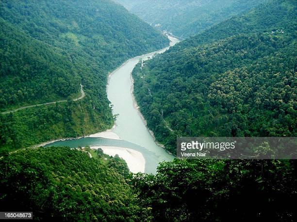 India,Darjeeling district-River Teesta&Rangeet