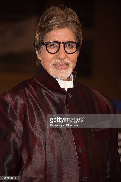 Indian actor Amitabh Bachchan arrives for the tribute to Hindi cinema at the 12th Marrakech International Film Festival on November 30Marrakech...