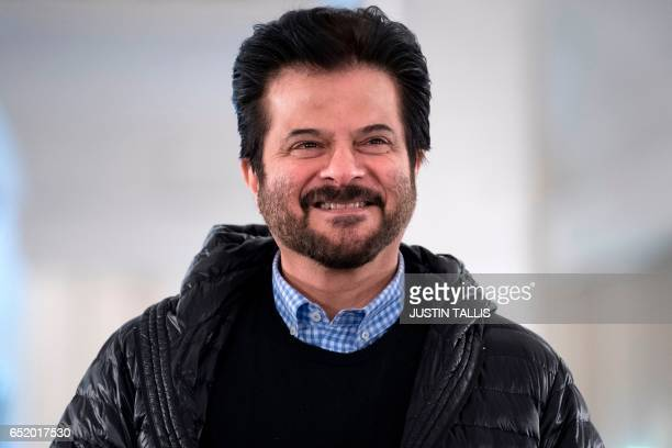 Indian actor Anil Kapoor poses during a photocall to promote the upcoming Bollywood comedy Mubarakan which is currently shooting in the UK in London...