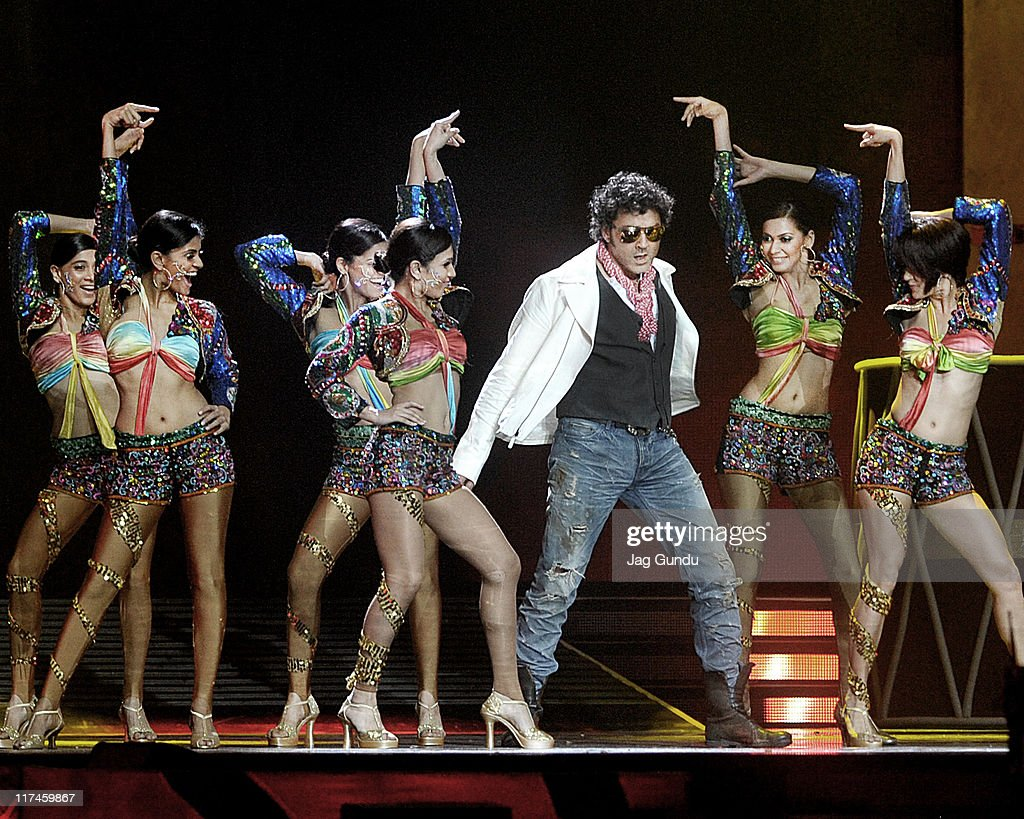 Indian actor Bobby Deol performs during the 2011 International Indian Film Academy (IIFA) awards at the Roger Centre on June 25, 2011 in Toronto, Canada.